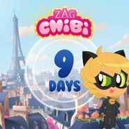 ZAG Chibi Countdown 9