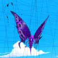 Butterfly Sentimonster Square
