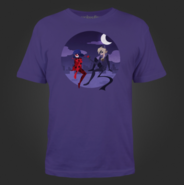Catbug Men's Purple