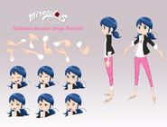Marinette webisode design