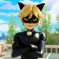 Cat Noir Square