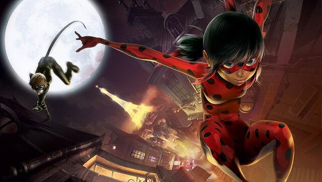 File:Ladybug and Cat Noir Jumping early CGI.jpg