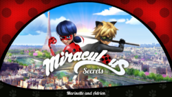 Marinette and Adrien- Title Card