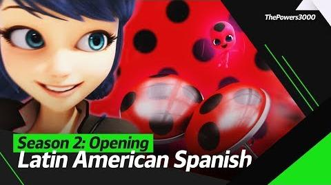Miraculous׃ Las Aventuras de Ladybug Season 2 — Opening Sequence Latin American Spanish
