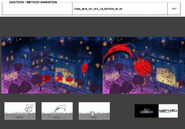 Zag Chibi - Ladybug Motion Blur model sheet