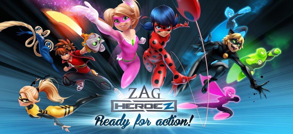 image zag heroez jpg miraculous ladybug wiki fandom powered by rh miraculousladybug wikia com Villains Wiki Marvel Heroes Wiki