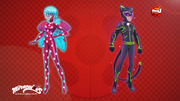 Ladybug & Cat Noir Space Powerup Concept Art