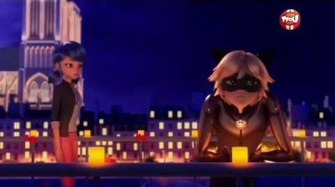 Marichat Balcony Scene (English Sub HD) Miraculous Ladybug Season 2 Episode 9 Glaciator
