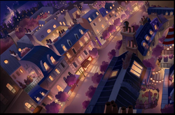 ChibiZag Paris background concept art