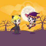Zag Chibi Halloween