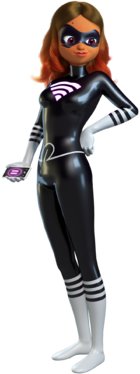 Lady Wifi Render