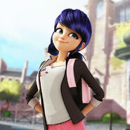 Marinette's pose from The Bubbler