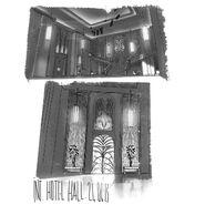 Le Grand Paris hotel hall concept art