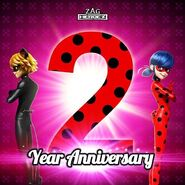 Miraculous 2-Year Anniversary promo