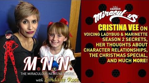 Lindalee & Cristina Vee talk Miraculous Ladybug - *Spoilers* (MNN) Ep.3