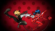 Ladybug and Chat Noir kick