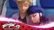 MIRACULOUS 🐞 STARTRAIN - Marinette & Adrien 🐞 Tales of Ladybug and Cat Noir