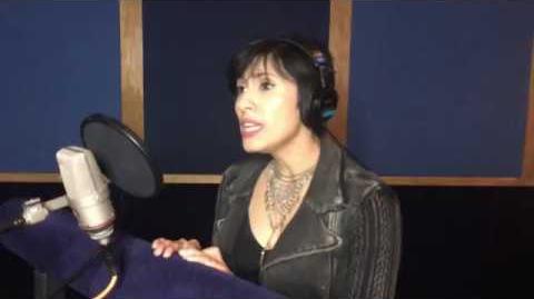 "Cristina Vee- ""The Boy That I Secretly Love"" rehearsal BTS (Miraculous Ladybug Christmas Special)"
