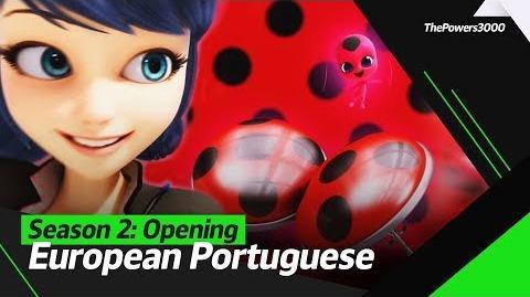 Miraculous As Aventuras de Ladybug Season 2 — Opening Sequence European Portuguese