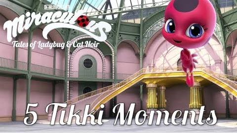 MIRACULOUS 🐞5 TIKKI MOMENTS 🐞 Tales of Ladybug and Cat Noir
