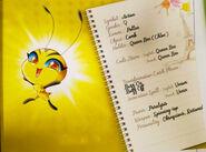 Miraculous Kwamis' Booklet - Pollen
