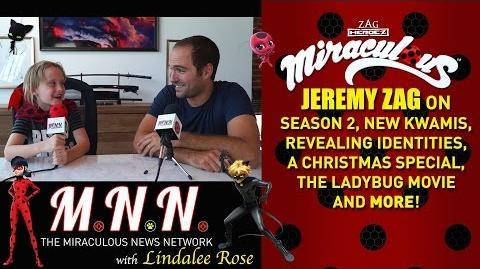 Lindalee & Jeremy Zag talk Miraculous Ladybug - (MNN) Ep