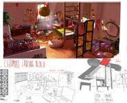 Chambre Ladybug 06-03-13