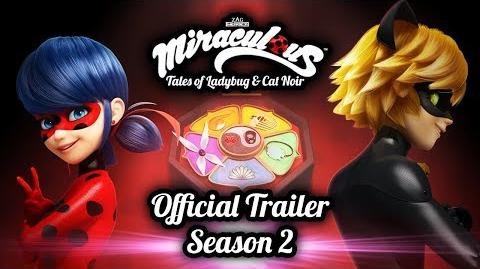 MIRACULOUS 🐞 OFFICIAL TRAILER SEASON 2 🐞 Tales of Ladybug and Cat Noir 1