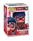 Ladybug with Tikki Funko Pop figure package