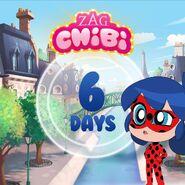 ZAG Chibi Countdown 6
