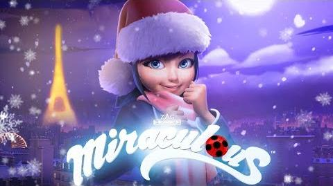 """MIRACULOUS 🐞 SANTA CLAWS - """"Marinette & the bakery song"""" 🐞 Tales of Ladybug and Cat Noir"""