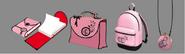 Marinette's Items concept art