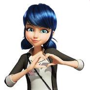 Marinette - heart gesture