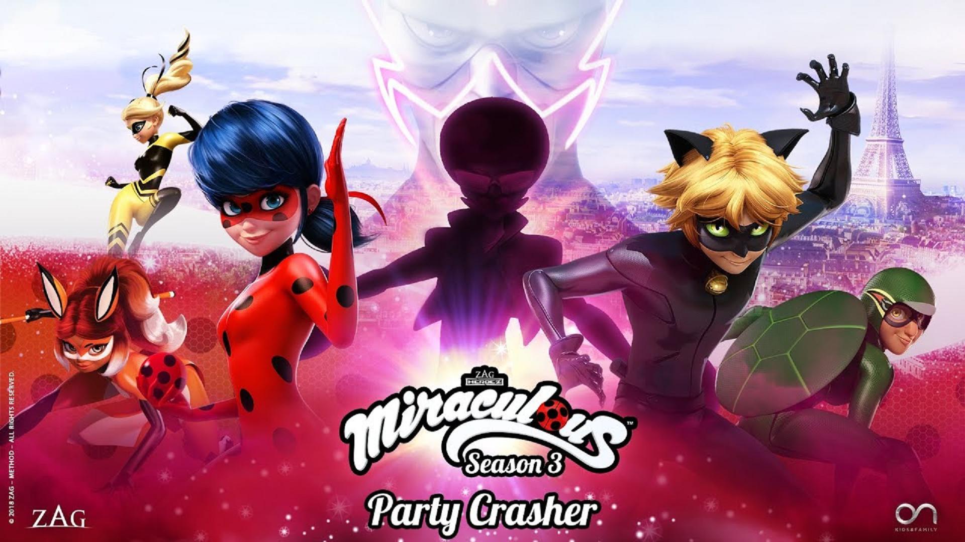 miraculous party crasher full episode