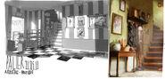 French themed Bakery - Residence - Concept Art