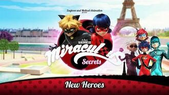MIRACULOUS SECRETS 🐞 NEW HEROES 🐞 Tales of Ladybug and Cat Noir-1579346051