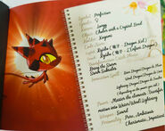 Miraculous Kwamis' Booklet - Longg