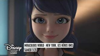 Miraculous World New York, les héros unis samedi à 9h20 sur Disney Channel !
