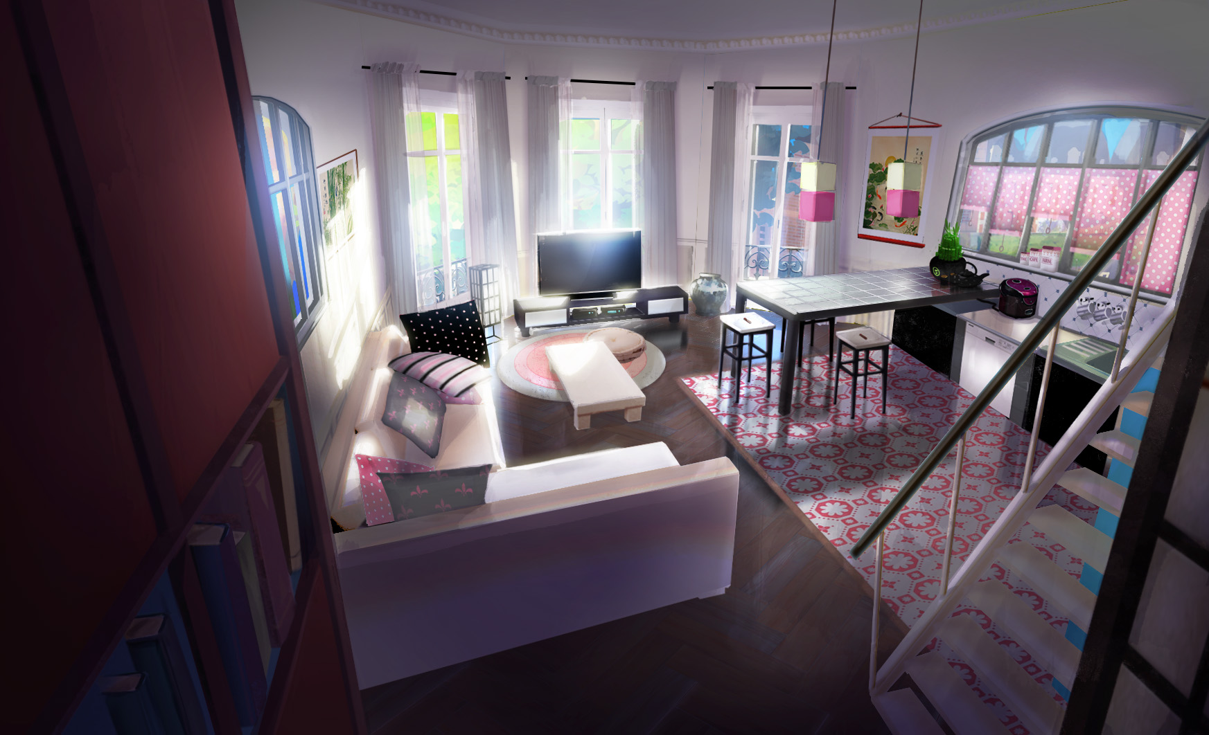 The Bakeryu0027s Living Room 2D Background.png