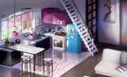 The Bakery's Kitchen 2D Background