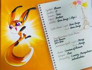 Miraculous Kwamis' Booklet - Trixx