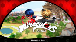 Marinette in Paris- Title Card