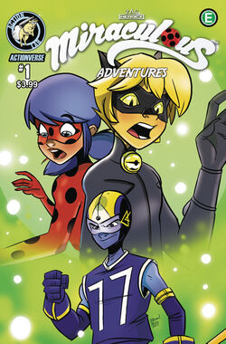 Miraculous Adventures Issue 1 Cover A