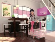 Tom & Sabine Boulangerie Patisserie kitchen concept art