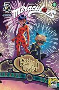 Comic Volume 1 SDCC 2016 Cover