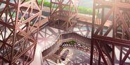 Eiffel Tower background concept art