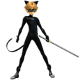 Cat Noir Render