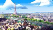 City of Paris background concept art