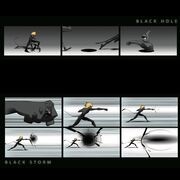 Cat Noir Black Storm and Black Hole concept art