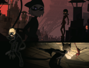 Concept Art Cat Noir Three Different Versions